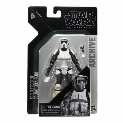 Star Wars - The Black Series 6'' Archives - Biker Scout