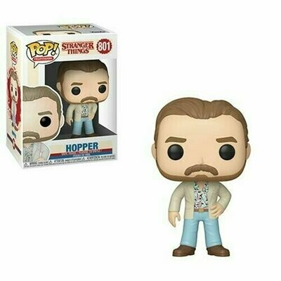 PREORDER 2019-10 Pop ! Television 801 - Stranger Things - Hopper