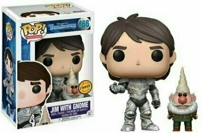 Pop ! Television 466 - Trollhunters - Jim with Gnome (Chase)