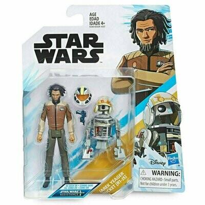 Star Wars - Resistance 3.75 - Yarek Yeager & Bucket (R1-J5)