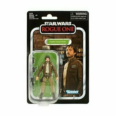 Star Wars - Vintage Collection W3 - VC130 Cassian Andor (Rogue One)