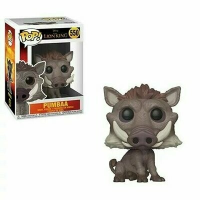 Pop ! Disney 550 - The Lion King - Pumbaa