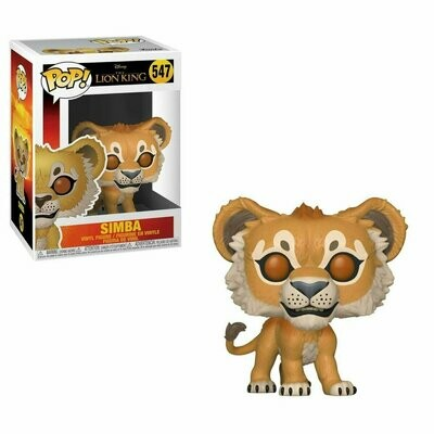 Pop ! Disney 547 - The Lion King - Simba
