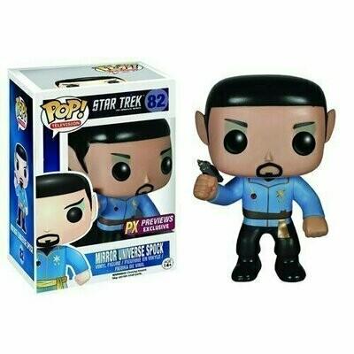 Pop ! Television 082 - Star Trek - Mirror Universe Spock (Previews Exclusive)