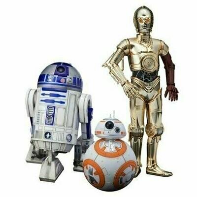 Star Wars - ArtFX Statue - C-3PO, R2-D2 and BB-8
