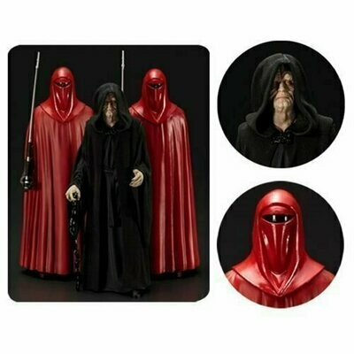 Star Wars - ArtFX Statue - Emperor Palpatine & Royal Guards (3-Pack)
