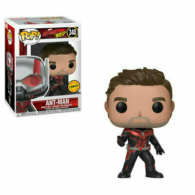 Pop ! Marvel 340 - Ant-Man & The Wasp - Ant-Man (Chase)