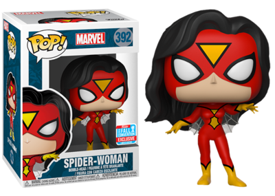 Pop ! Marvel 392 - Spider-Woman (Classic) (2018 Fall Convention Exclusive)