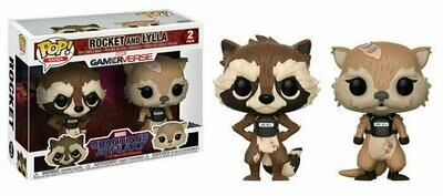 Pop ! Games 2-Pack - Guardians of the Galaxy : Tell Tales - Rocket Raccoon and Lylla