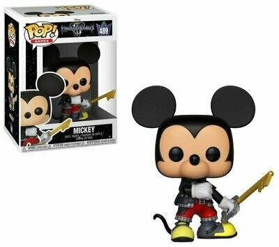 Pop ! Disney 489 - Kingdom Hearts III - Mickey