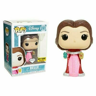 Pop ! Disney 241 - Belle (Diamond Collection) (Hot Topic Exclusive)