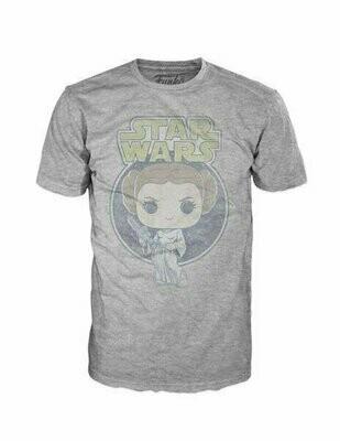 Pop Tees - Star Wars - Princess Leia Retro