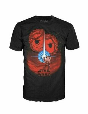 Pop Tees - Star Wars- The Last Jedi - Movie Poster