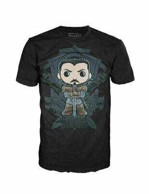 Pop Tees - Game Of Thrones - Jon Snow Crest