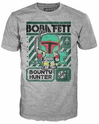 Pop Tees - Star Wars- Boba Military T-Shirt
