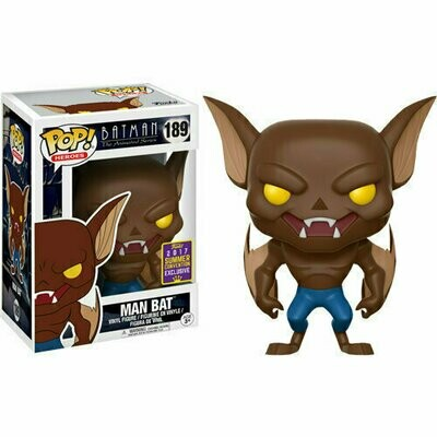 Pop ! Heroes 189 - Batman The Animated Series - Man Bat (2017 Summer Convention Exclusive)