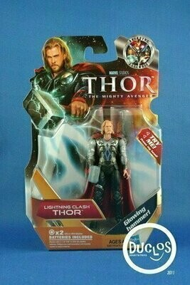 Thor Movie Basic Action Figures - 03 Thor (Lightning Clash)
