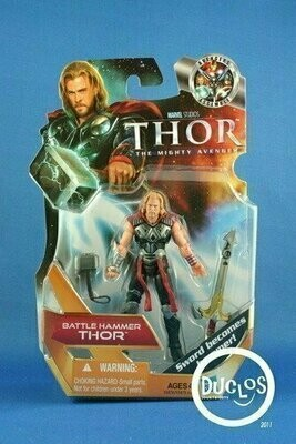Thor Movie Basic Action Figures - 01 Thor (Battle Hammer)