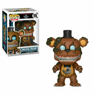 Pop ! Books 15 - Five Nights at Freddy's The Twisted Ones - Twisted Freddy
