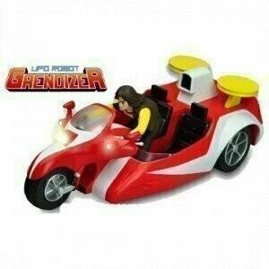 HL Pro - Metaltech 03 - Die Cast - Grendizer Duke Fleed's Buggy / Goldorak Actarus et sa Moto (6'' Action Figure)