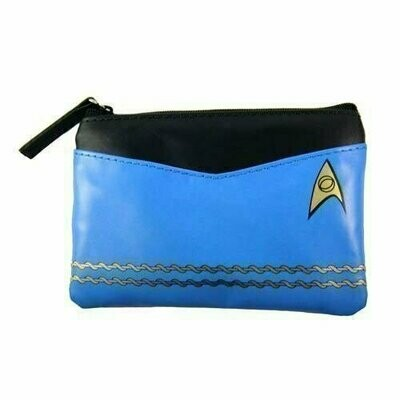Star Trek - Original Series Blue Uniform Coin Purse