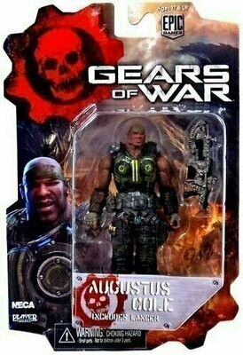 Gears Of War - 3 3/4 Action Figure - Augustus Cole