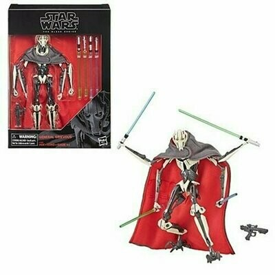 Star Wars - The Black Series 6'' RED - General Grievous
