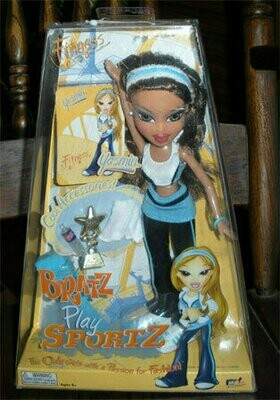 Bratz Doll - Play Sportz Fitness - Yasmin