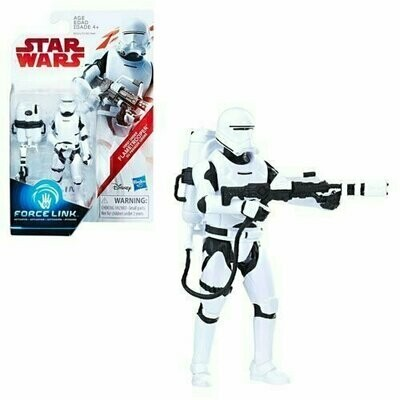 Star Wars - The Last Jedi 3.75 - First Order Flametrooper (Firing Pose)