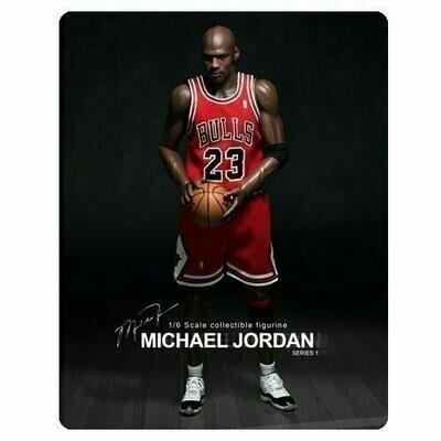Michael Jordan Bulls 23 Red Jersey Real Masterpiece Figure