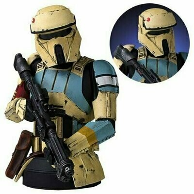 Star Wars - Gentle Giant - Rogue One Scarif Shoretrooper Yellow Mini Bust