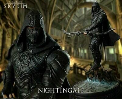 Gaming Heads - The Elder Scrolls V Skyrim - Skyrim Nightingale 1:6 Scale Statue Bethesda