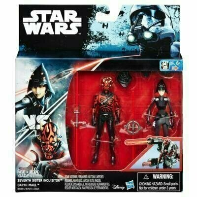 Star Wars - Rogue One - 2-Pack Seventh Sister Inquisitor & Darth Maul (Rebels)