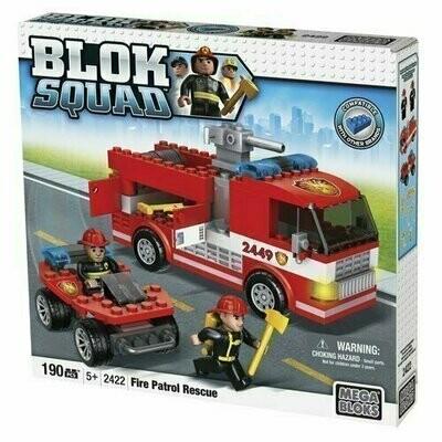 Mega Bloks - Bloks Squad - 2422 Fire Patrol Rescue (190 PCS)