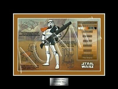 Star Wars - Character Key - 2007 - Limited Edition 1000 - Sandtrooper (San Diego Comic Con)