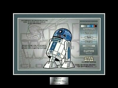 Star Wars - Character Key - 2007 - Limited Edition 1000 - R2-D2 (Star Wars Shop)
