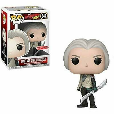 Pop ! Marvel 347 - Ant-Man & The Wasp - Janet Van Dyne Unmasked (Target Exclusive)