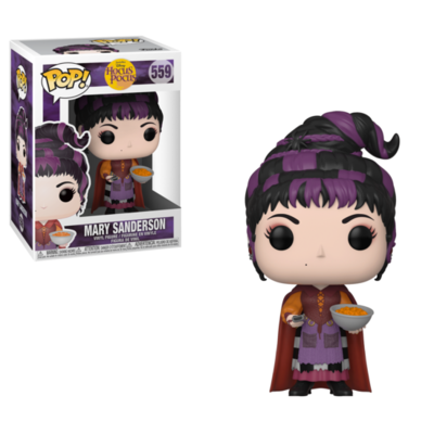 Pop ! Disney 559 - Hocus Pocus - Mary with Cheese Puffs