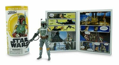 Star Wars - Galaxy Of Adventures W3 - Boba Fett with Mini Comic