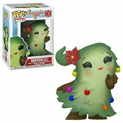 PREORDER 2019-12 Pop ! Christmas 03 - Peppermint Lane - Mayor Patty Noble