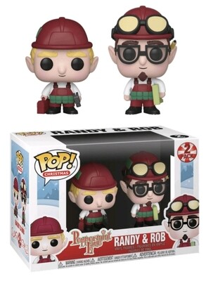 PREORDER 2019-12 Pop ! Christmas - Peppermint Lane - Randy and Rob (2-Pack)