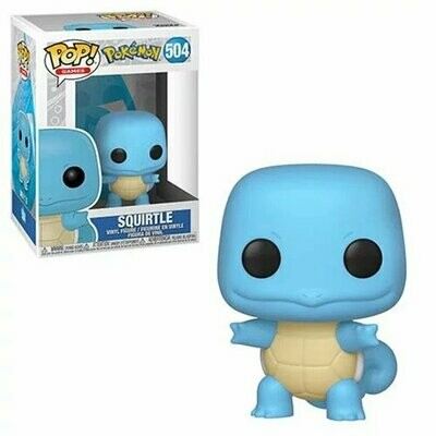 PREORDER 2019-10 Pop ! Games 504 - Pokémon - Squirtle