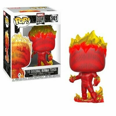 Pop ! Marvel 501 - Marvel 80th - The Original Human Torch