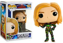 Pop ! Marvel 516 - Marvel Captain Marvel - Captain Marvel