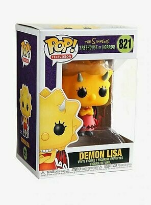 Pop ! Television 821 - The Simpsons - Demon Lisa
