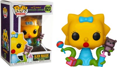 Pop ! Television 823 - The Simpsons - Alien Maggie