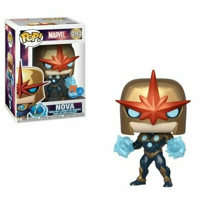 Pop ! Marvel 494 - Nova (PX Metallic Exclusive)