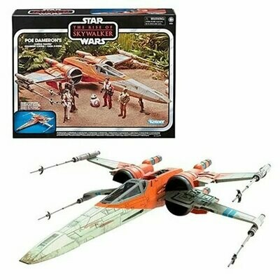 Star Wars - Vintage Collection - The Rise of Skywalker - Poe Dameron's X-Wing Fighter