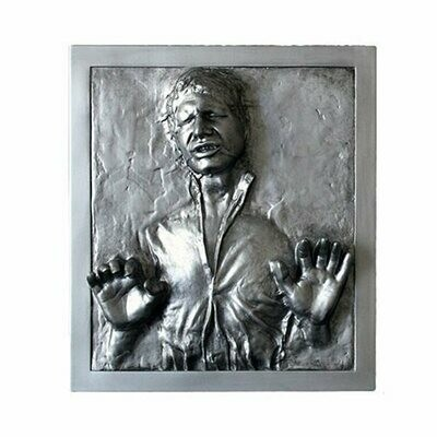 Star Wars - Han Solo Carbonite 6 1/2-Inch Mini Plaque