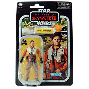 PREORDER 2019-12 Star Wars - Vintage Collection ROS W1- Poe Dameron